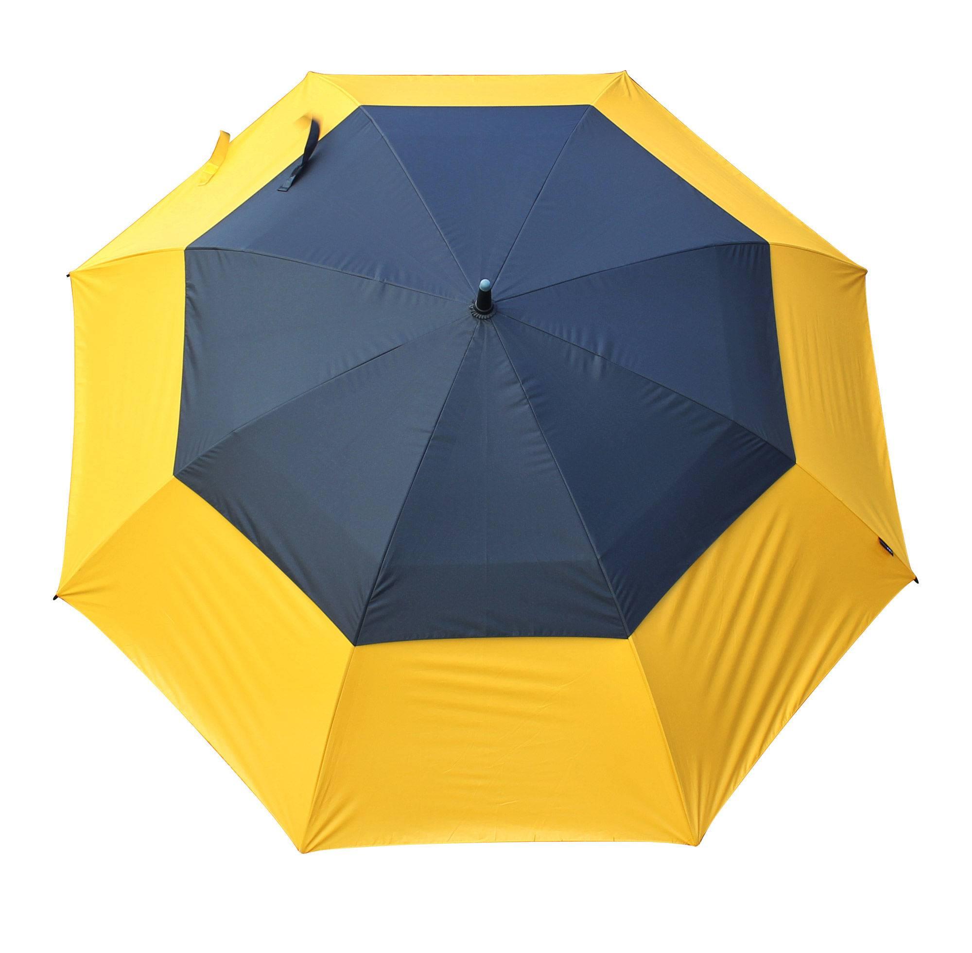 Keltainen_Tour_UV_sateenvarjo