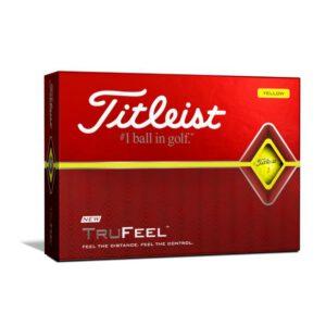Titleist_TruFeel_keltainen
